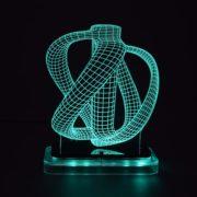 3D illusion light sculpture-Jug