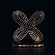 3D illusion light sculpture- Lepidos