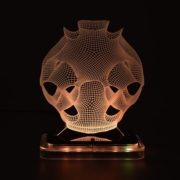 3D illusion light sculpture-Alien