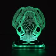 3D illusion light sculpture-Mask