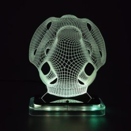 3D illusion light sculpture-Mask