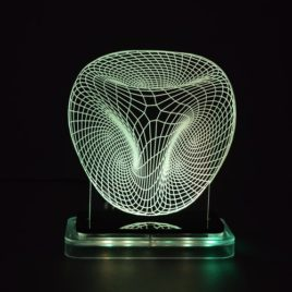 3D illusion light sculpture-Space