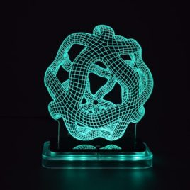 3D illusion light sculpture-Starhub