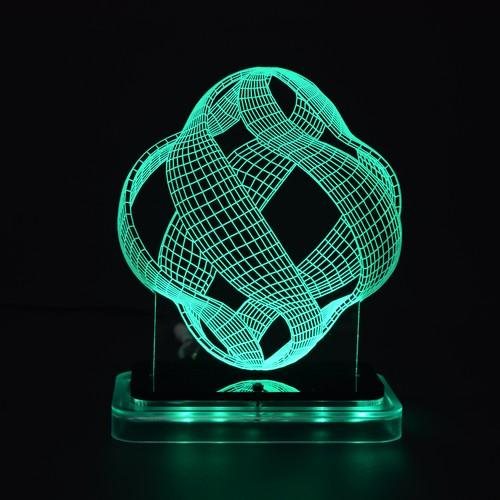 3D illusion light sculpture- Lantern