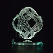 3D illusion light sculpture- Lantern