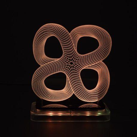 3D illusion light sculpture- Monarch