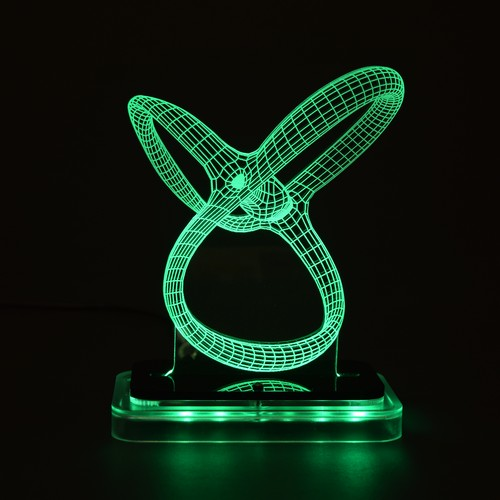 3D illusion light sculpture-Propeller