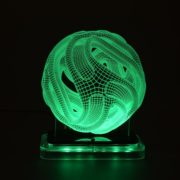 3D illusion light sculpture- Ball