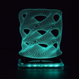 3D illusion light sculpture- Tower