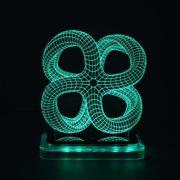 3D illusion light sculpture- Monarch-2