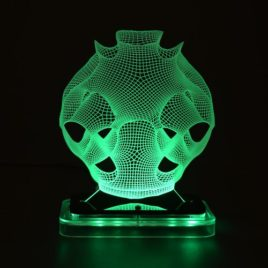 3D illusion light sculpture-Alien