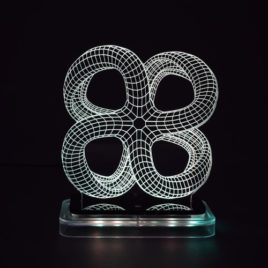 3D illusion light sculpture- Monarch-2