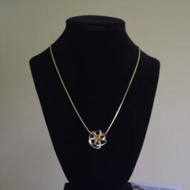 Octopus pendant necklace
