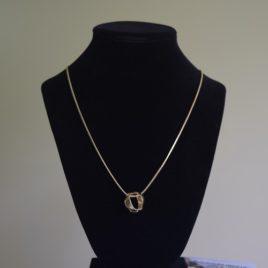 Bellflower pendant necklace
